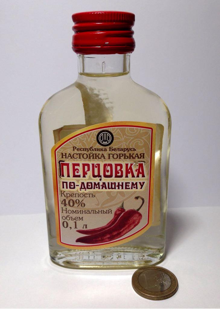 Настойка перцовка с спиртом