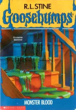 Goosebumps: #3 Monster Blood - Paperback cover