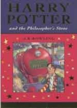 Harry Potter and the Philosopher´s Stone - Paperback cover