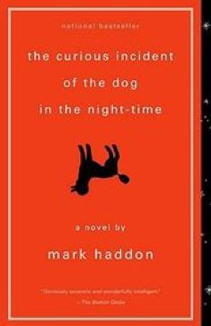 The Curious Incident of the Dog in the Night-Time -  cover