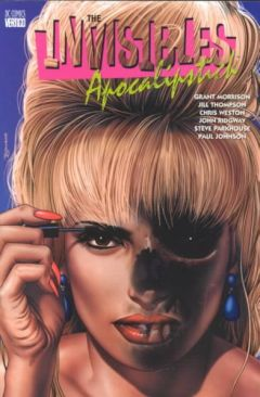 The Invisibles: Apocalipstick - Paperback cover