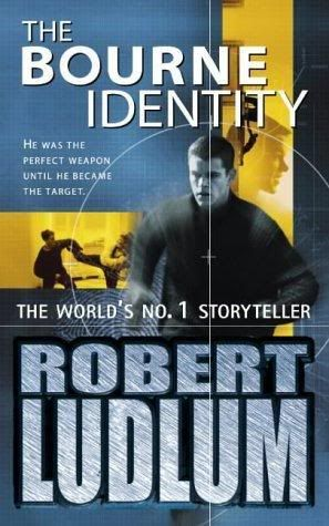The Bourne Identity - Audiobook cover