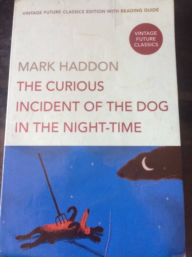 The Curious Incident of the Dog in the Night-Time - Paperback cover