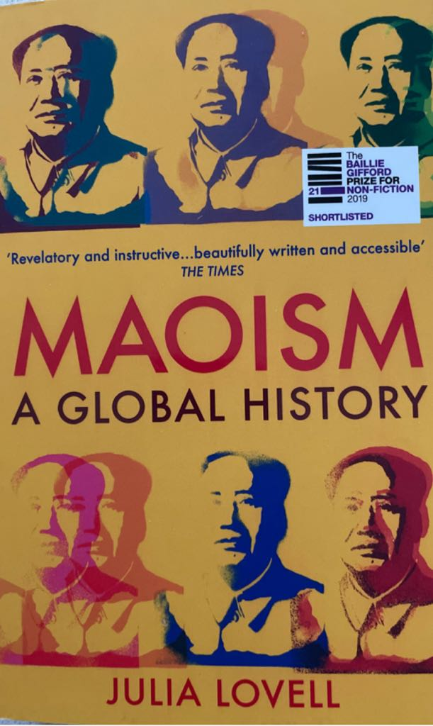 Maoism-A Global History  - Paperback cover