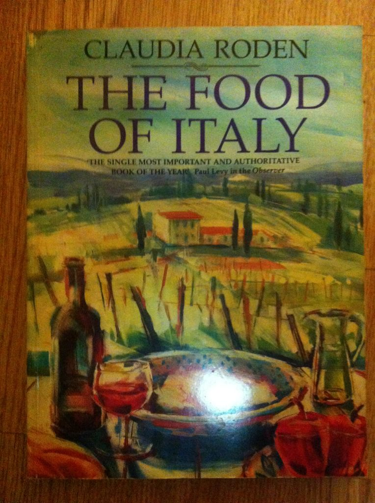 The Food of Italy - Hardcover cover