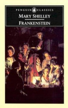 Frankenstein or the Modern Prometheus - Paperback cover