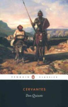 Don Quixote - Paperback cover