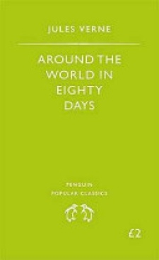 Around the World in Eighty Days - Paperback cover