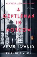 A Gentleman In Moscow - eBook cover