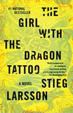 The Girl with the Dragon Tattoo - Hardcover cover