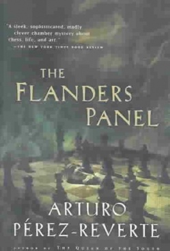 The Flanders Panel - Paperback cover