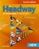 New Headway: Pre-Intermediate Fourth Edition: Student's Book -  cover