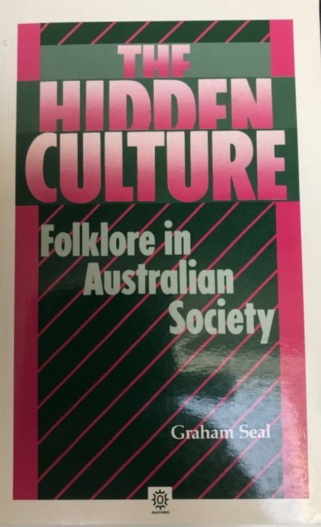 The Hidden Culture - Paperback cover
