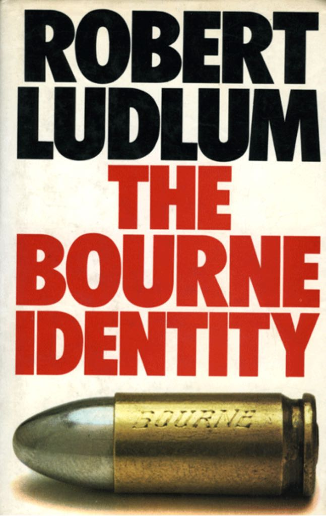 The Bourne Identity - Hardcover cover
