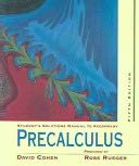 Student's Solutions Manual to Accompany Precalculus -  cover
