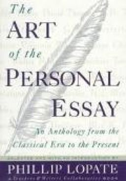Art of Personal Essay-10: 0385422989-13: - Hardcover cover