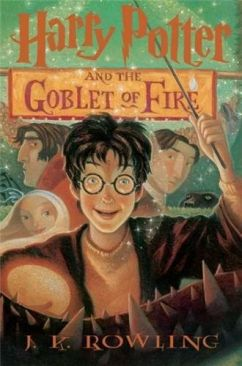 Harry Potter and the Goblet of Fire - Paperback cover