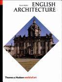 English Architecture - Paperback cover