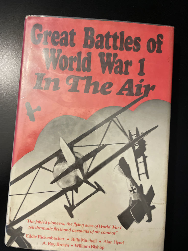 Great Battles of W.W. 1 in the A -  cover
