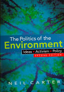 The Politics of the Environment -  cover