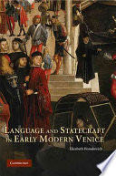 Language and Statecraft in Early Modern Venice -  cover