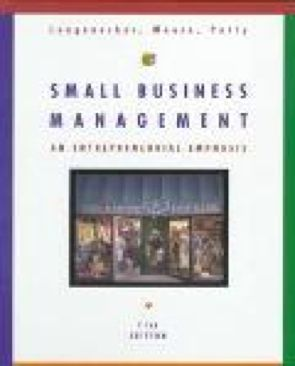 Small Business Management An Entrepreneurial Emphasis-10: 0538890150-13: - Hardcover cover