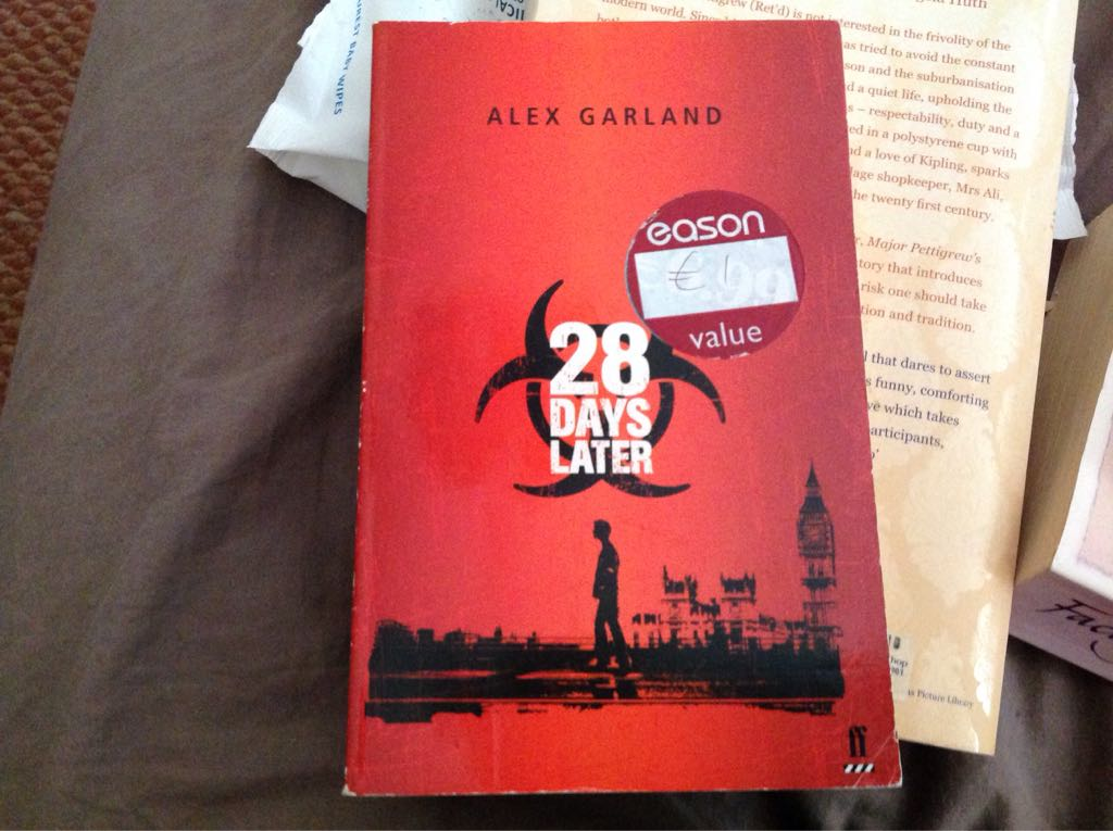 28 Days Later - Paperback cover