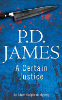 A Certain Justice - Paperback cover