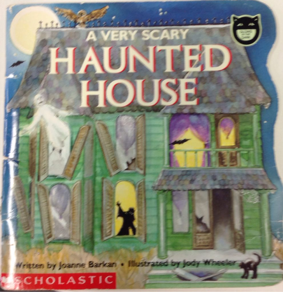 H: A Very Scary Haunted House (mini) - Paperback cover