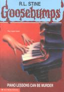 Goosebumps: #13 Piano Lessons Can Be Murder - Paperback cover