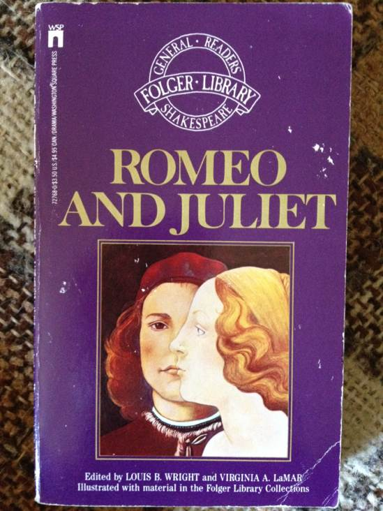 Romeo and Juliet - eBook cover