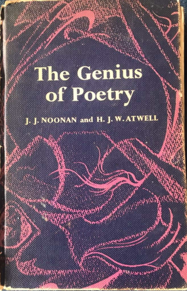 The Genius of Poetry -  cover