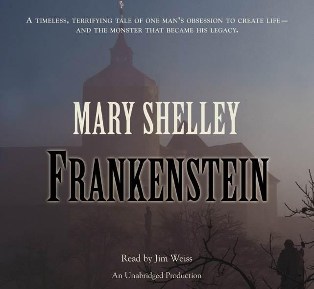 Frankenstein - Audiobook cover