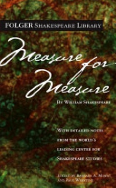 Measure for Measure - Paperback cover