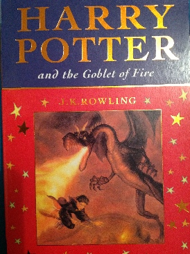 Harry Potter and the Goblet of Fire -  cover