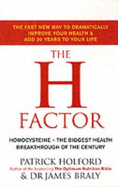 H Factor Diet Holford, Patrick; Braly, James - Paperback cover