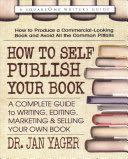 How to Self-Publish Your Book -  cover