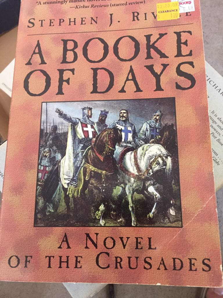 A Booke Of Days -  cover