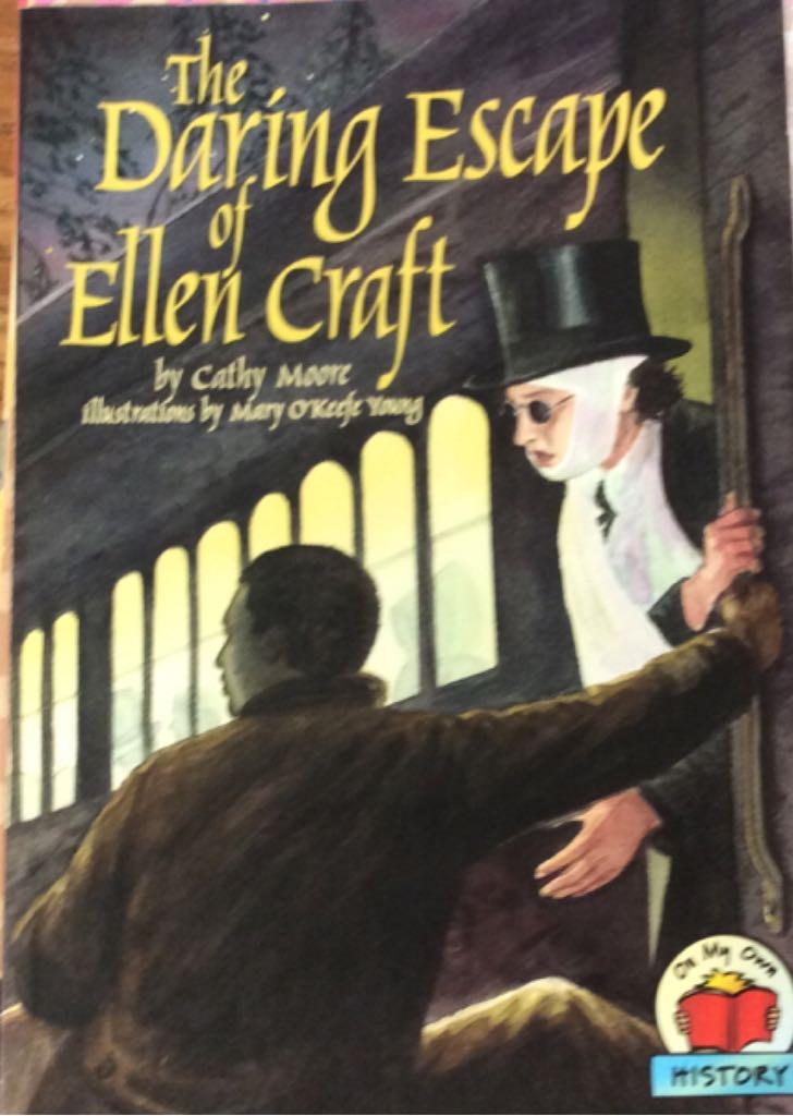 The Daring Escape Of Ellen Craft -  cover