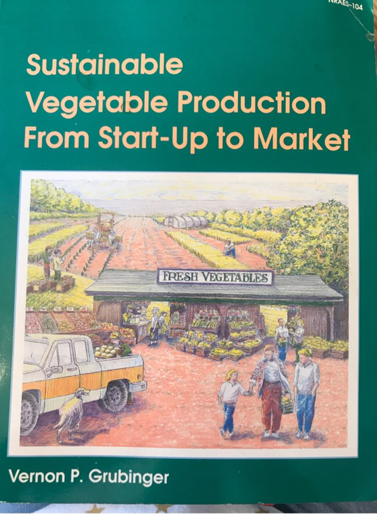Sustainable Vegetable Production from Start-up to Market -  cover