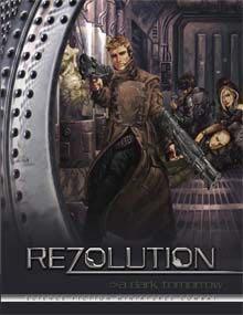 Rezolution A Dark Tomorrow - Paperback cover