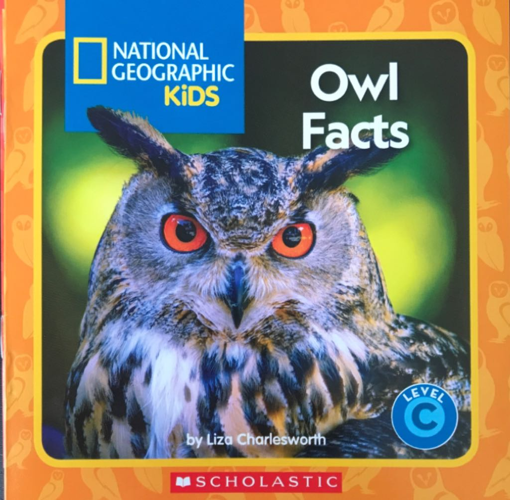 Owl Facts -  cover