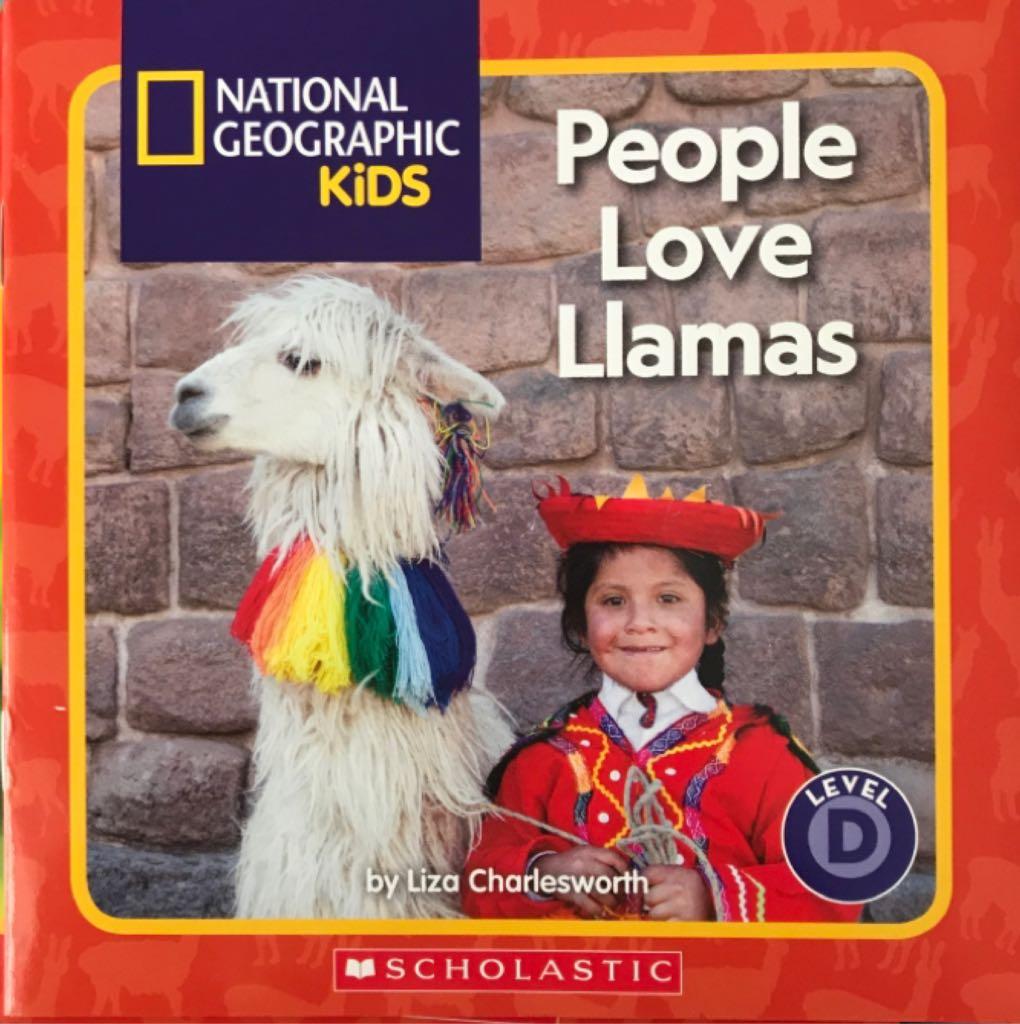 People Love Llamas -  cover
