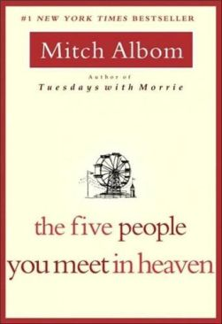 Five People You Meet in Heaven - Paperback cover
