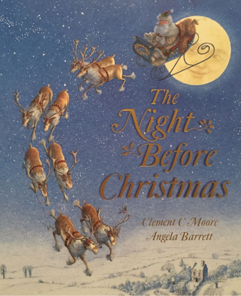 The Night Before Christmas - Paperback cover