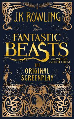 Fantastic Beasts And Where To Find Them - Hardcover cover