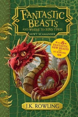 Fantastic Beasts And Where To Find Them - Paperback cover