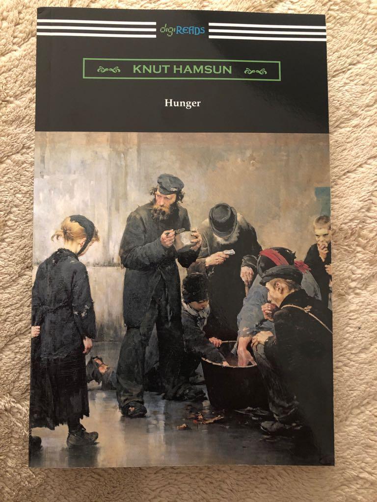 Hunger - Paperback cover