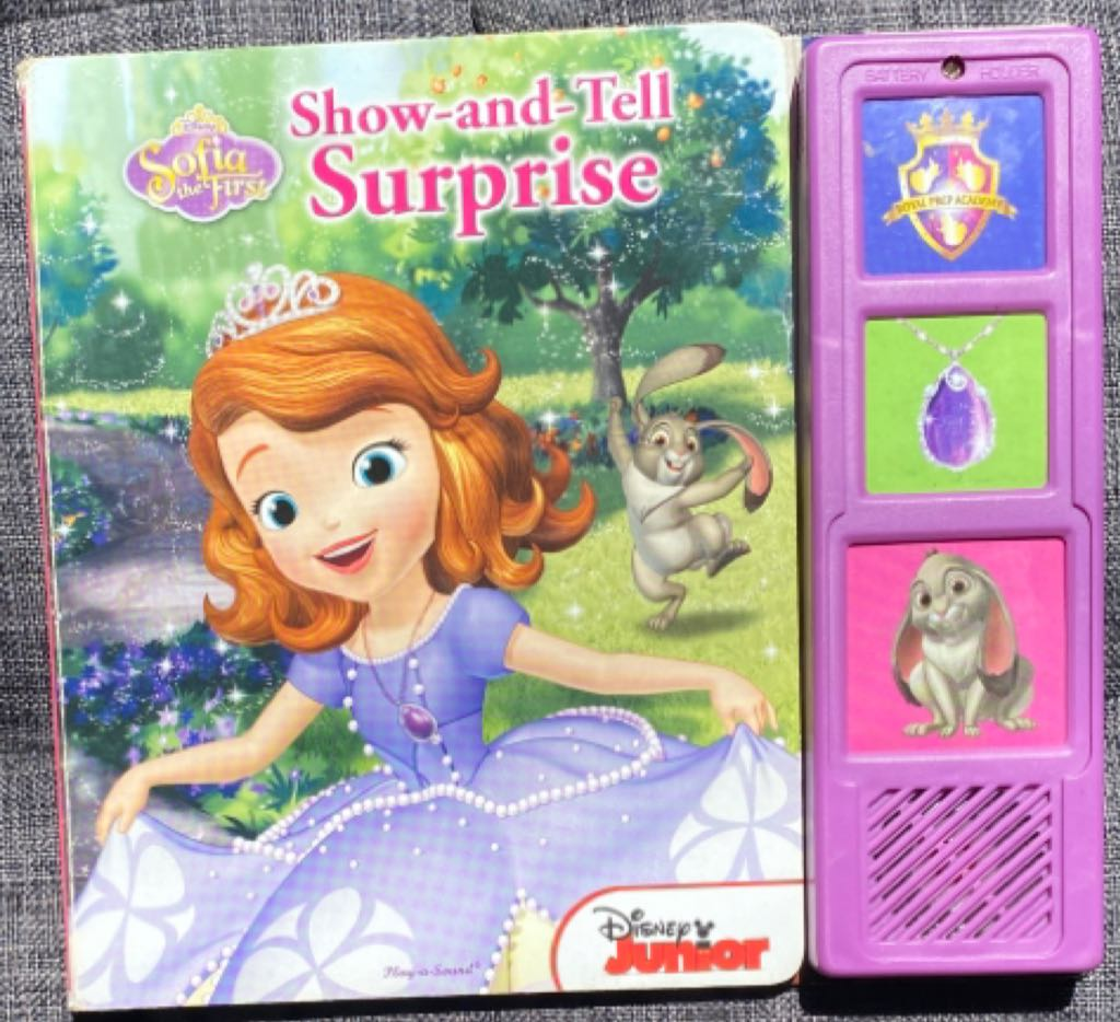 Sofia The First Show-And-Tell Surprise -  cover