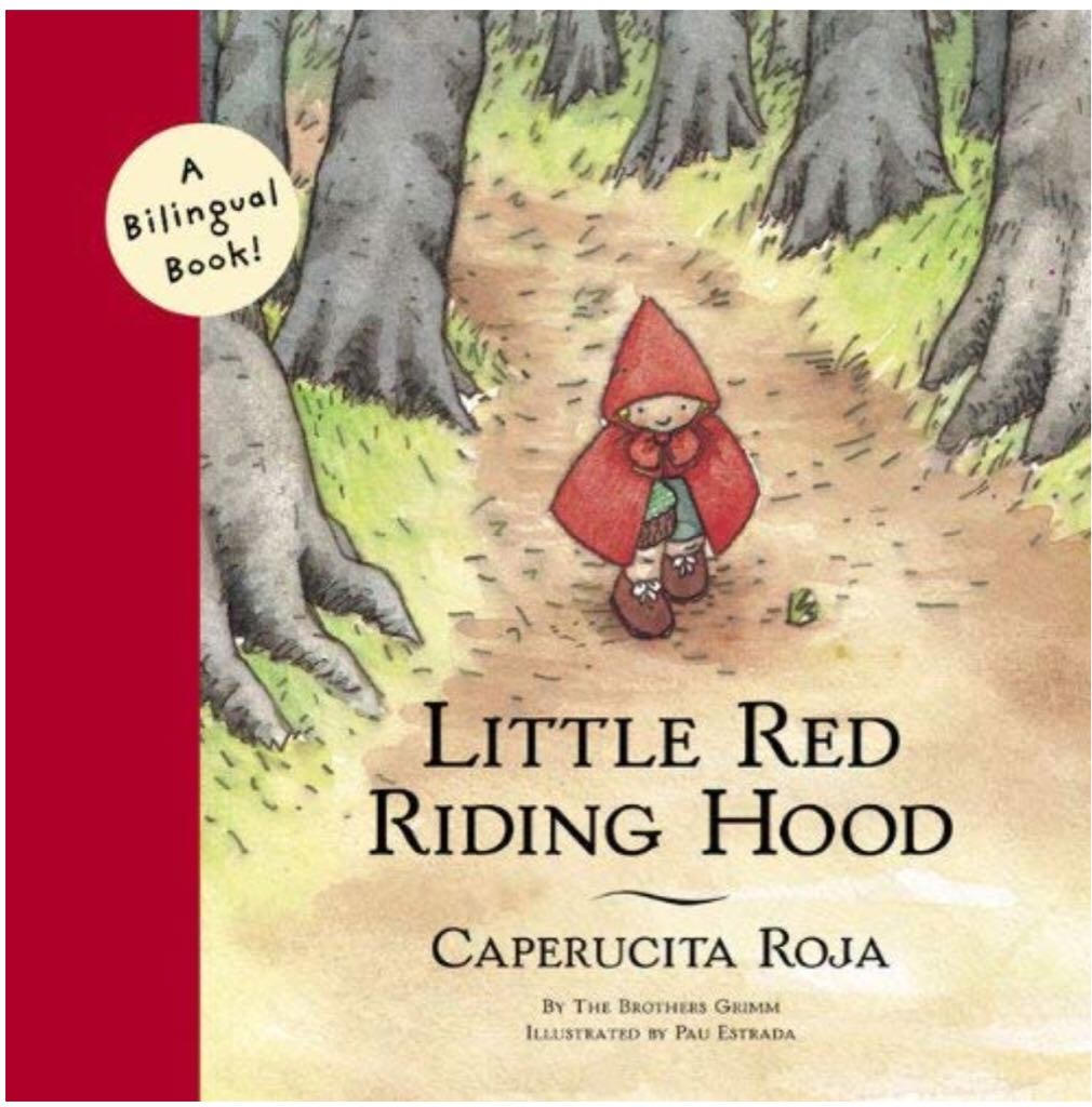 Little Red Riding Hood ~ Caperucita Roja -  cover